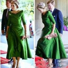 Green Vintage Mother Of The Bride Dresses