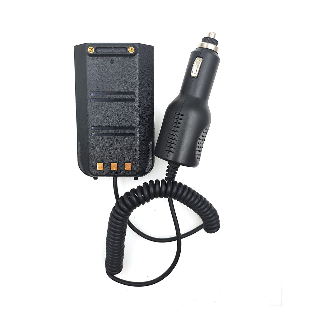 100% Original High Quality MD-UV380 Car Charger Battery Eliminator For TYT MD-380 Dual Band DMR Radio