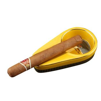 COHIBA Pocket Cigar Ashtray Cool Cigar Gadgets 1 Cigar Holder Cigar Accessories with Black Box 2