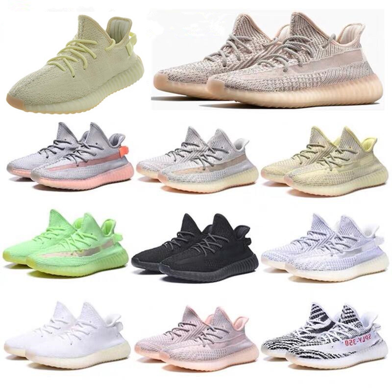 Best Selling New Arrival Breathable Running Shoes Yeezys Air 350 V2 Boost Men & Women Sports Sneaker Size 36-46 Drop Shipping