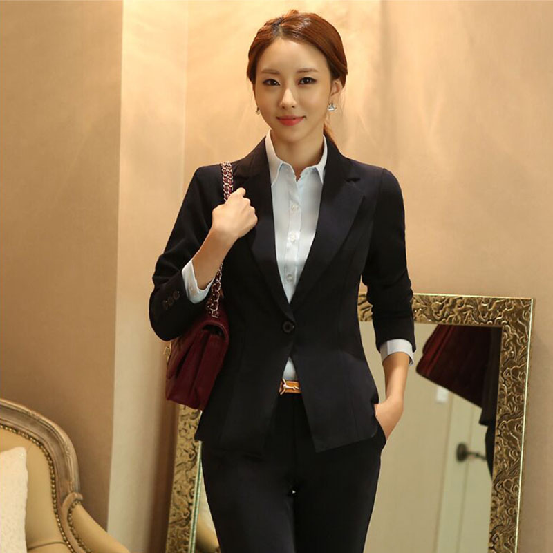 Spring Autumn New Women Casual Suit Jacket Solid Color One Button Short Slim Women Blazer Korean Work Clothes Wild Long Sleeve