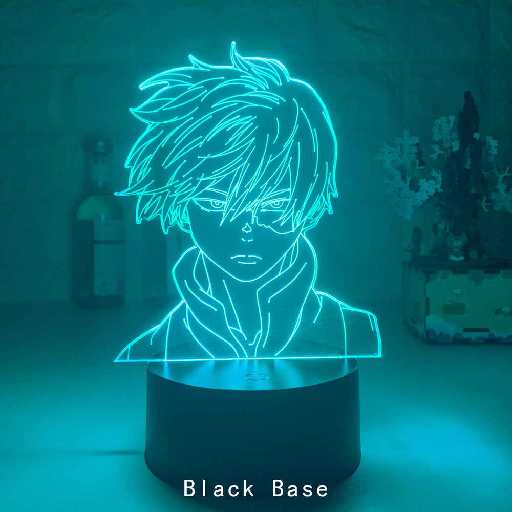 Anime My Hero Academia Shoto Todoroki Lamp 9