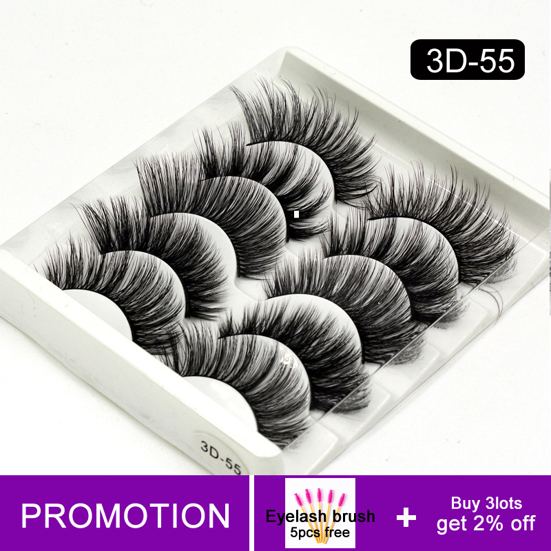 Volume Wispy Lashes Natural Thick Silk Eyelashes Extension Short 13/15mm Natural Eyelash Vendors 3D Fluffy Mink Lash Box Makeup