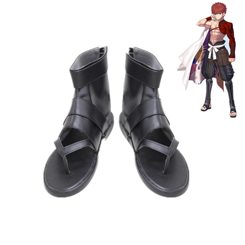 New Fate/Grand Order Senji Muramasa Cosplay Shoes Sandals Anime Cosplay Halloween Party Cosplay Shoes Eur Size 35-48