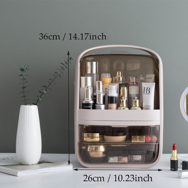 Fashion Acrylic Waterproof Cosmetic Case