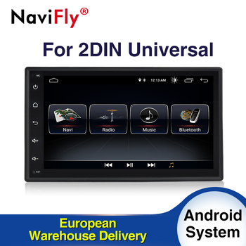 EU Tax Free Android10 Quad core 2Din CAR dvd GPS navigator for Nissan Toyota Peugeot KIA with 4G wifi radio BT RDS