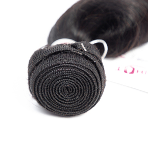 Image 3 - Lanqi Peruvian Brazilian hair weave bundles loose wave bundles deals human hair 4 bundles non remy wholesale hair bundles