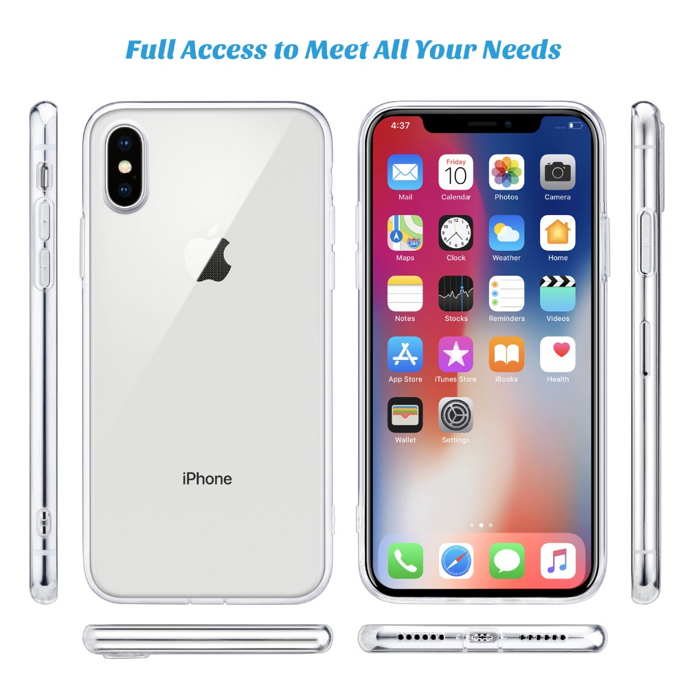 For-iPhone-X-Case-WEFOR-Slim-Clear-Soft-TPU-Cover-Support-Wireless-Charging-for-Apple-5(5)