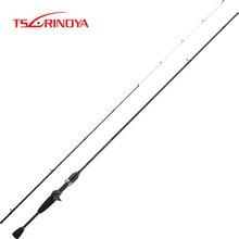 Tsurinoya caña de pescar de fundición UL Dexterity 1,92 m, accesorio de Fuji de carbono, varilla de fundición de Ajing ultraligera, caña de fundición de acción rápida