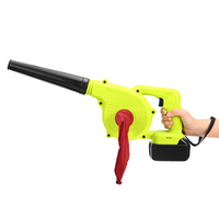 2000W 128vf 16800mAh Cordless Electric Air Blower Handheld Leaf Computer Dust Collector Cleaner Tool Blower Sweeper Power Tools