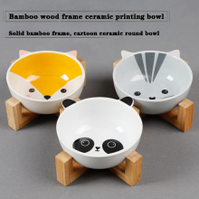 New pet cat bowl, ceramic food bowl