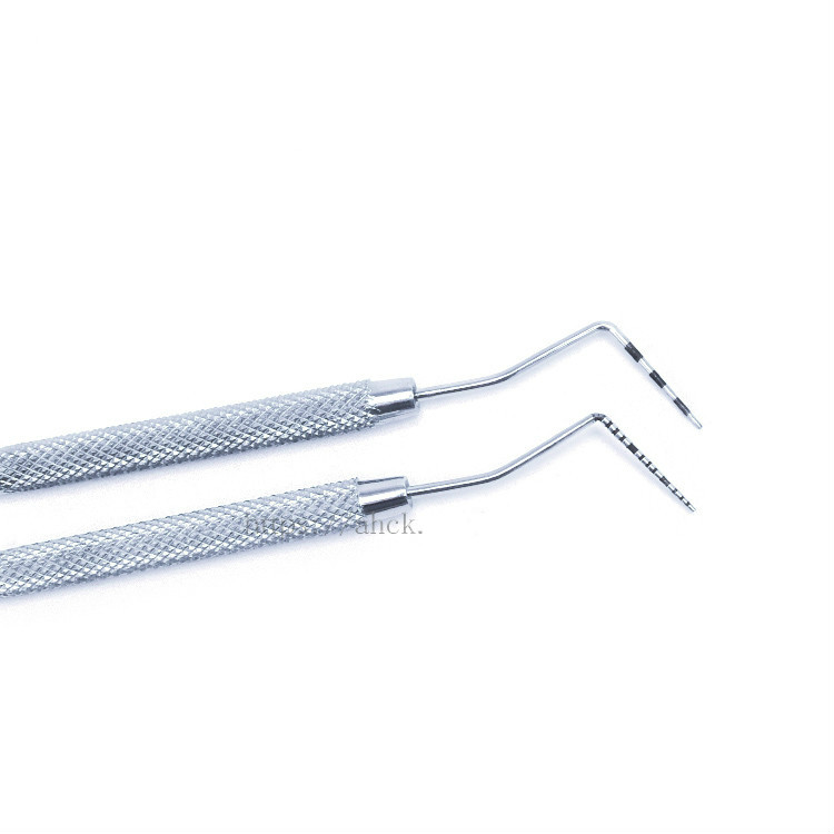 1pc High Quality Stainless Steel Dental Periodontal Calibration Probe With Ruler 2 Type For Your Choice