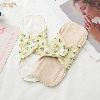 2 Pcs/lot Non-slip Reusable Adult Diaper Menstrual Cloth Sanitary Soft Pads Napkin Washable Panty Liners Feminine Hygiene Pad