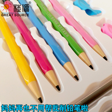 Automatic Pencil Laying Pencil Set Student Automatic Pencil 2B Pencil Lead With Eraser(30sets)