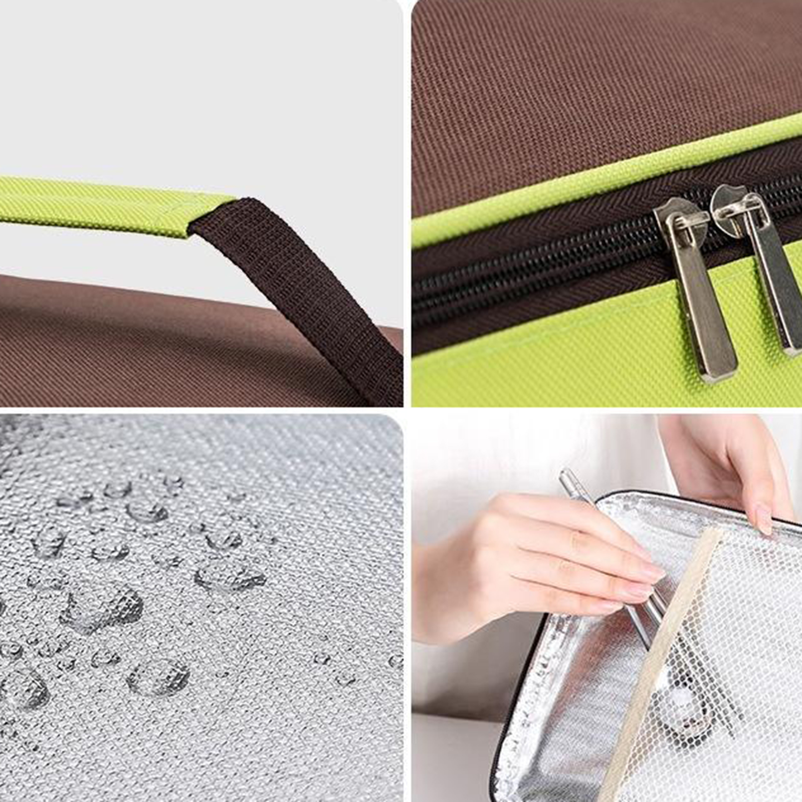Portable Lunch Bags Insulated Cool Tote Bag for Men Women Work School Travel