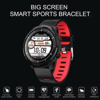 L3 Smart Sport Uhr Herzfrequenz Blutdruck IP67 Wasserdichte Lauf Armband Stille Wecker Sitzende Erinnerung