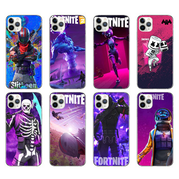 Silicone Phone Cases Fortnites Game Mobile Phone Cover 3D Cartoon Printed Phone Covers for Iphone X XR XS Iphone 6 7 8s Plus 2
