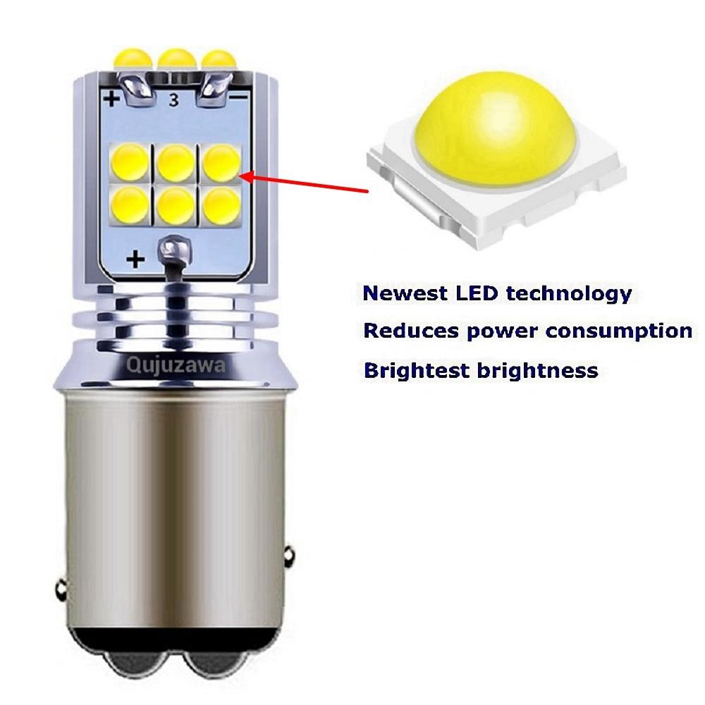 2 шт. 1157 P21/5 Вт BAY15D высокое качество супер яркий светодиодный стоп-сигнал для автомобиля задние фонари авто поворотники лампы дневные ходовые огни