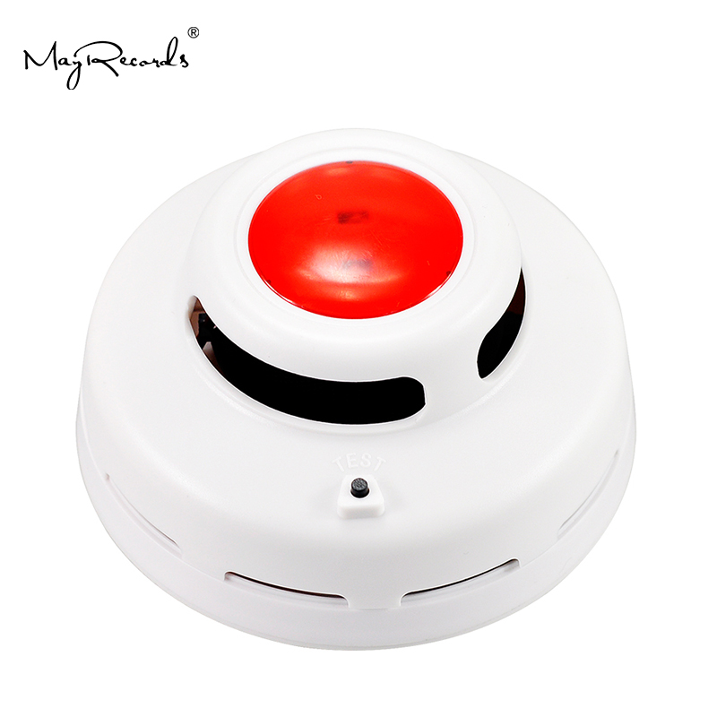 Free Shipping Cordless Stable Smoke Alarm High Sensitive Photoelectric Smoke Detector Fire Alarm Security System