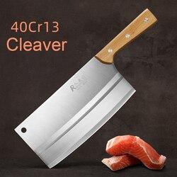 CHUN siekanie krojenie dwufunkcyjny nóż kuchenny domowy kucharz chiński tasak cięcie warzyw kromka nóż do cięcia kości