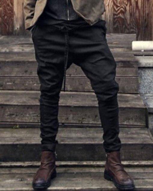 European and American trendy young men's pants, all kinds of leggings, leggings, men's pants, lace up, loose casual pants, Leggi 14