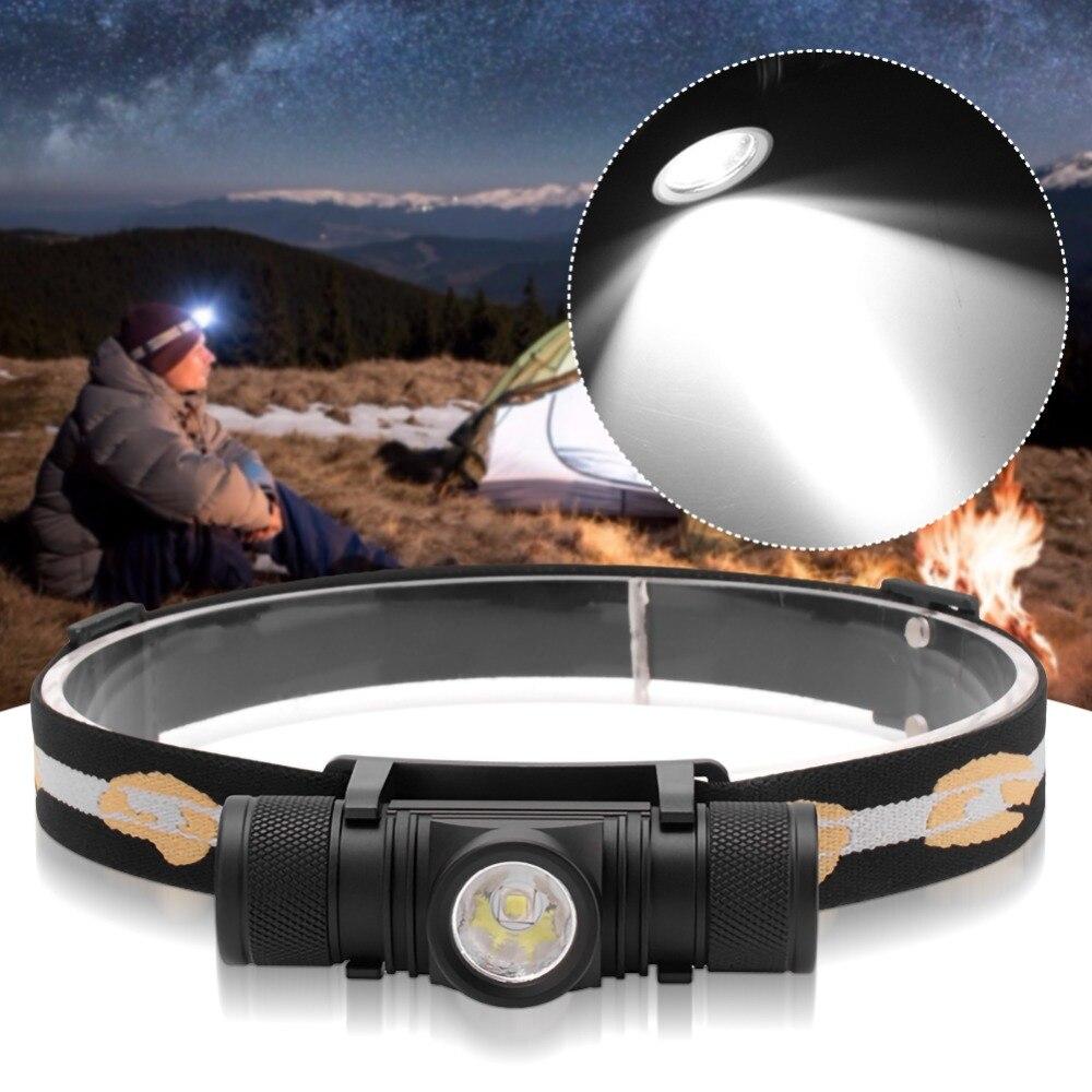 Xm l2 светодиодный мини налобный фонарь высокой мощности 18650
