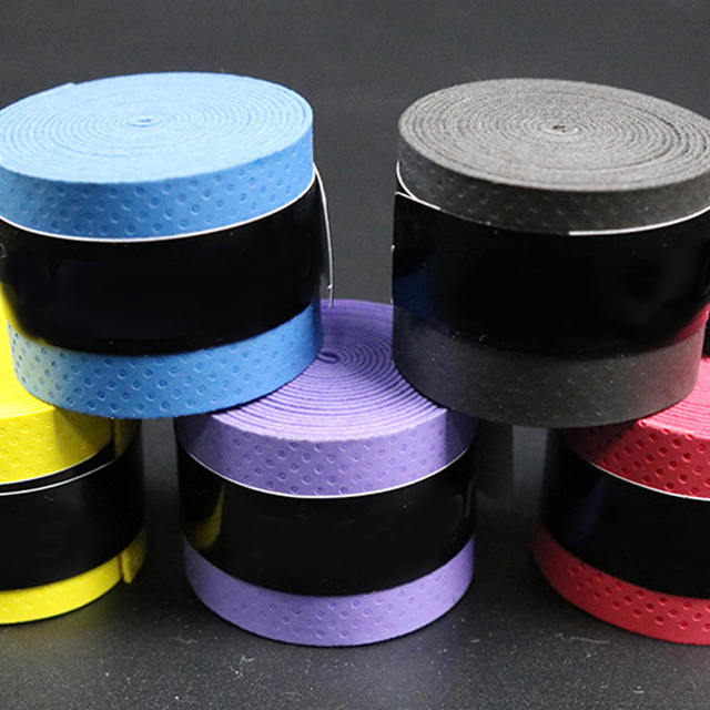 10pcs Badminton Sweat Belt Tennis Racket Band Towel Hand Glue Take-up Strap Handshake Handle Multi-color Non-slip Strap 5