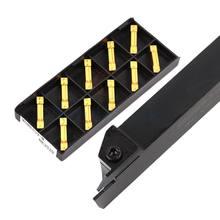 MGEHR2525 couteau de coupe de barre de coupe de fente de diamètre extérieur couteau de fente de coupeur étendu + lame de coupe durcie résistante à l'usure MGMN
