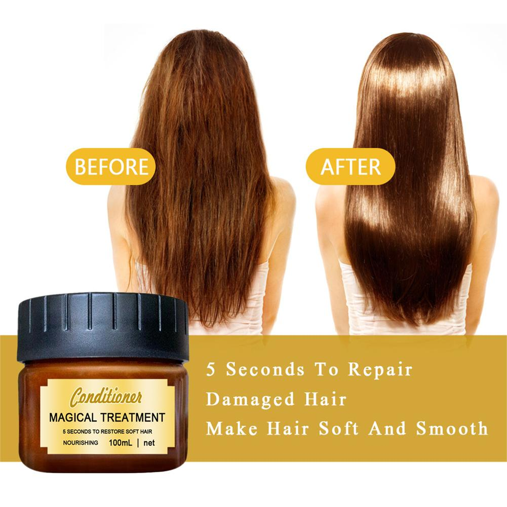 Hair Mask Deep Conditioner Hair Roots Repair Recover Elasticity Hair For Dry Or Damaged Hair For Women Hair Care