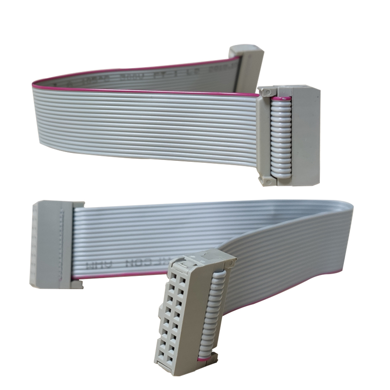 16 Pin Ribbon Cable 20cm 40cm 60cm 80cm 100cm Flat Ribbon Cables Led Panel Display Screen Flat Cable 16 Pin Pure Copper Cable