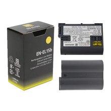 Originele 1900Mah EN-EL15b ENEL15b Camera Batterij Voor Nikon Z6 Z7 Mirrorless D850 D810 D750 D610 D7500 D7200 MH-25a