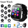 Q18 Smart Watch With Sim Card Connected Men Women French Spanish Sport Waterproof Smartwatch Pedometer Whatsapp Facebook Twitter