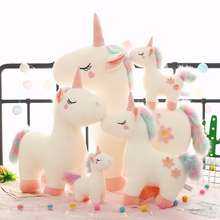 Pillow Toy Unicorn Doll Plush-Toy Stuffed Animals Large-Size Christmas-Gifts Girl Soft