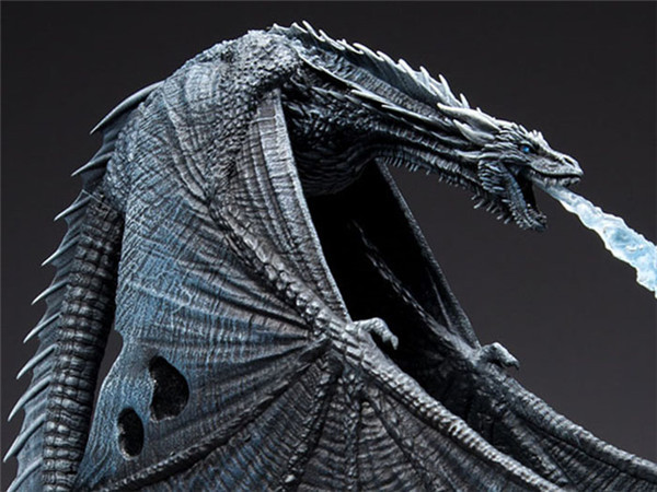 Image 3 - Game of Thrones Viserion Ice Dragon McFARLANE Deluxe Figure Collective Toys-in Action & Toy Figures from Toys & Hobbies