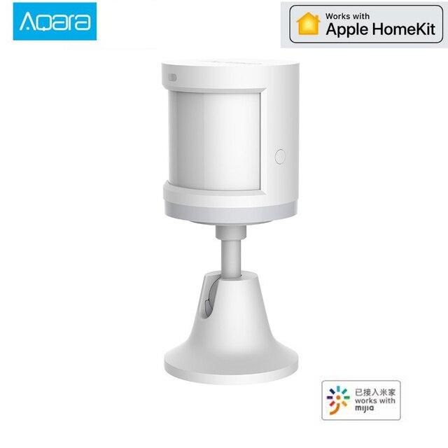 アップグレード版 aqara 人体センサースマートボディ運動 pir モーションセンサーの zigbee ゲートウェイ mi ホームアプリで使用する