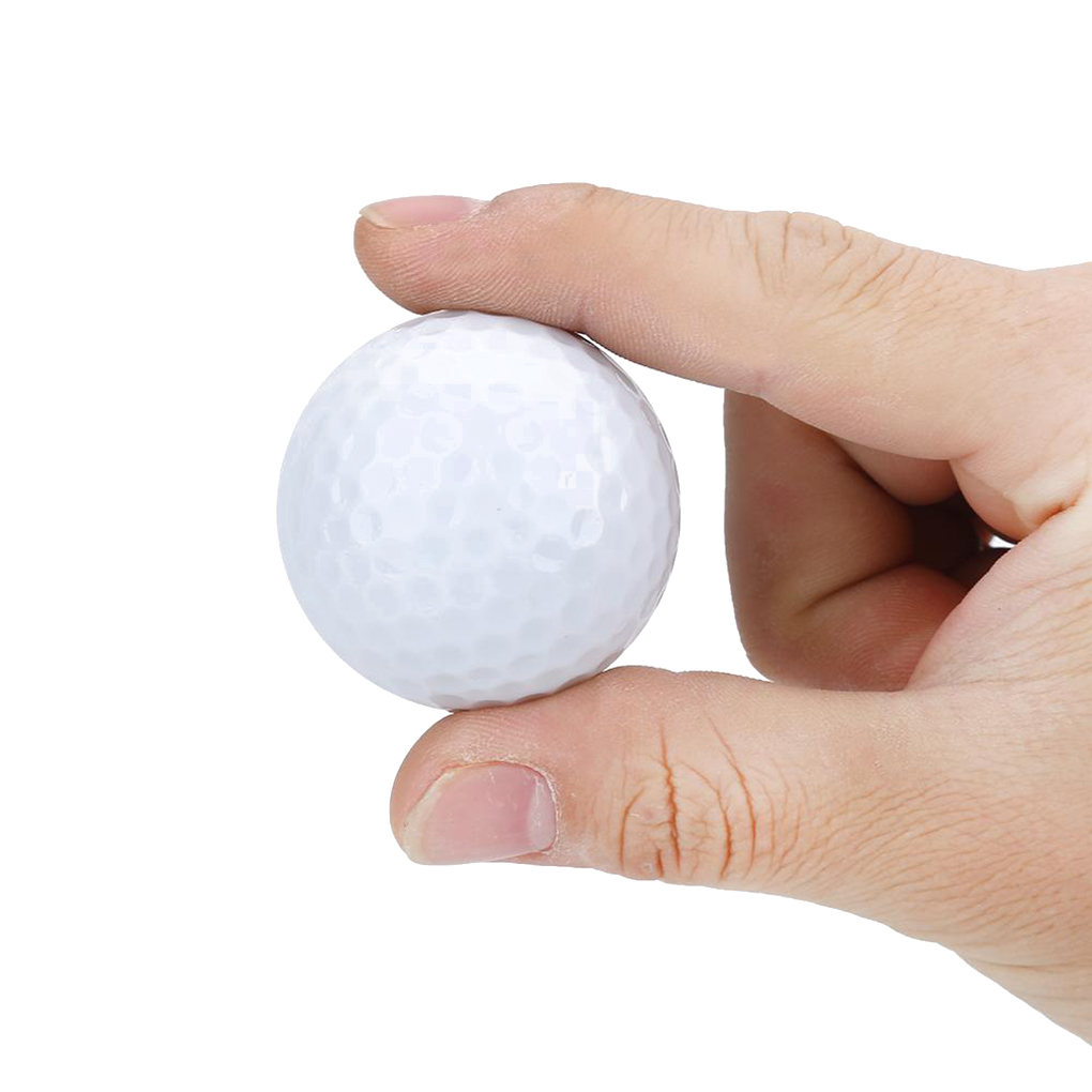Electronic LED Rubber Golf Ball Light-up Glowing Night Practice Golf Balls Training Accessories