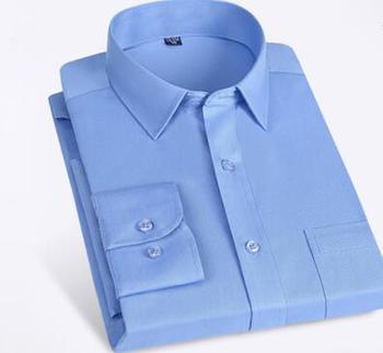 Shirt man 2019 autumn men's white shirt long-sleeve businessman youth