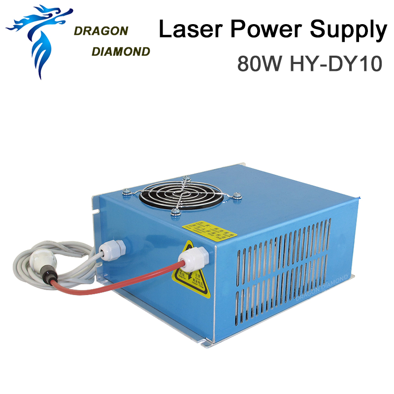 Купить с кэшбэком DY Series 80W CO2 Laser Power Supply DY-10 For RECI W2 CO2 Laser Tube Used For Laser Engraving Cutting Machine