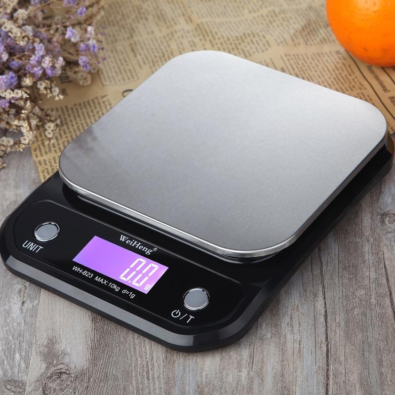 10 кг/1 г кг/3 кг/5 кг/0,1 г цифровые весы Точность светодиодный Портативный электронный Кухня весы Еда весы измерительная Вес весы-4