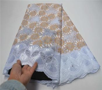 African Lace Fabric 100% Cotton Dry Lace Fabric Nigerian Lace Fabric 2020 High Quality Swiss Voile In Switzerland PSA969-1
