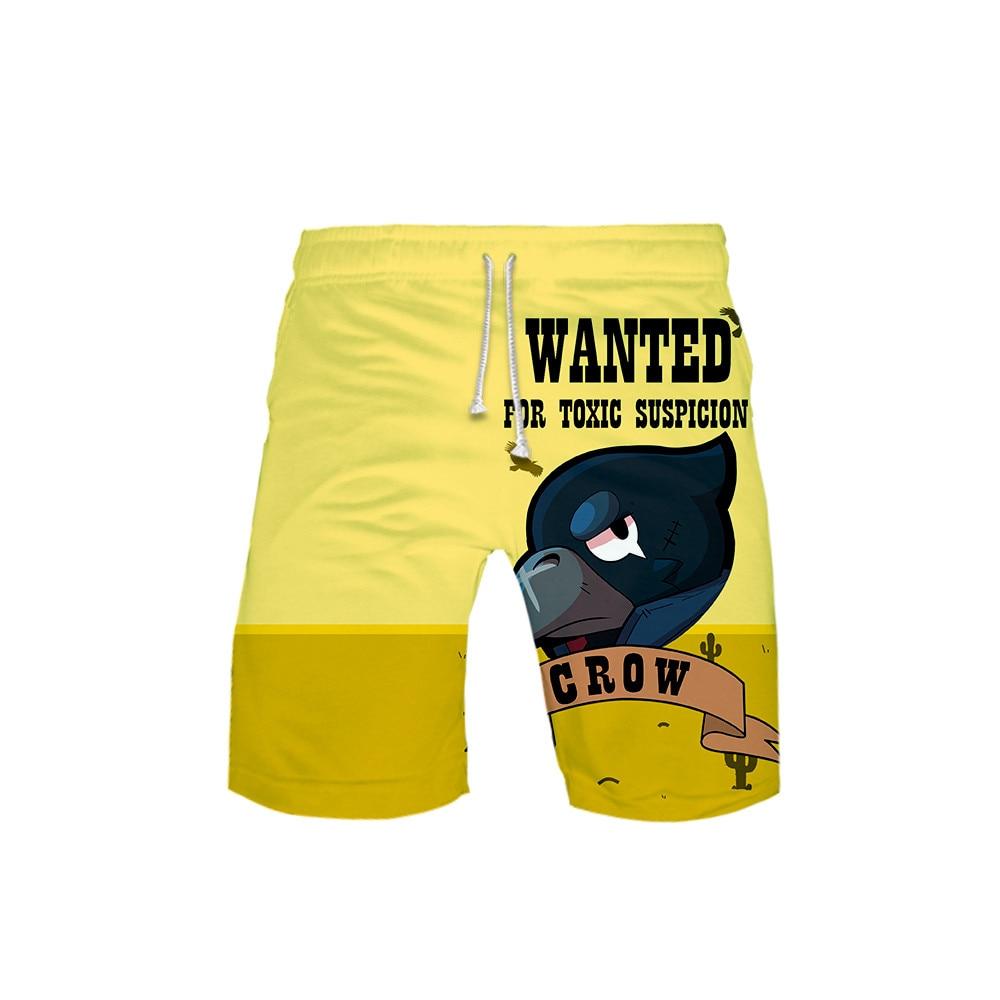 3-20 Years Beach Board Shorts 3D Shooting Game Swimwear Swimming Trunks Boys Surfing Swim Shorts High Quality Swimsuit Bermuda