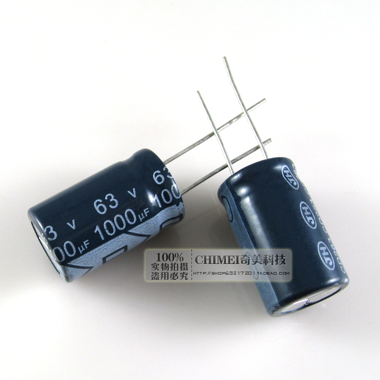 Free Delivery. Electrolytic capacitor <font><b>63</b></font> v, <font><b>1000</b></font> uf capacitor image