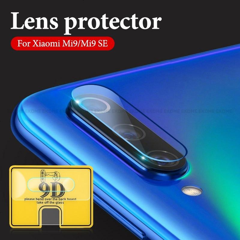9D Phone Camera Protective Lens For Xiaomi Mi9 SE CC9E Mi8 Lite Mi 9T Pro Camera Transparent  Protector For Xiaomi Mi 6X MiA2