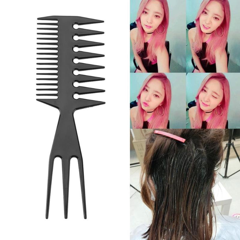 1pc Hair Comb Detangle Straight Anti-static Hairdressing Combs Barber Hair Care Cutting Comb Kit Pro Salon Hair Styling Tools