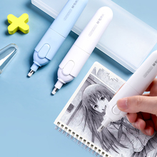 M&G 1set Electric Sketch Eraser with ErasersHigh Speed Automatically Wipe Clean for Art Drawing School Stationery Supplies