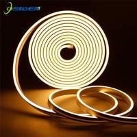 12V Led Streifen Wasserdicht Band Led Neon Licht IP67 2A power Weiß Warm Weiß Led Band Licht 2835 120Led/m Bühne modellierung licht