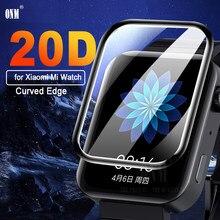 Защитная пленка 20D с закругленными краями и полным покрытием, мягкая прозрачная защитная пленка для Xiaomi Mi Watch 2019, защита экрана (не стекло)