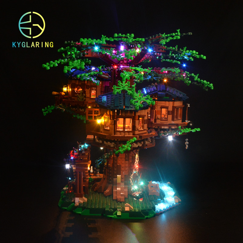 cheapest Kyglaring LED light  kit  for LEGO ideas 21318  treehouse   the block building not included