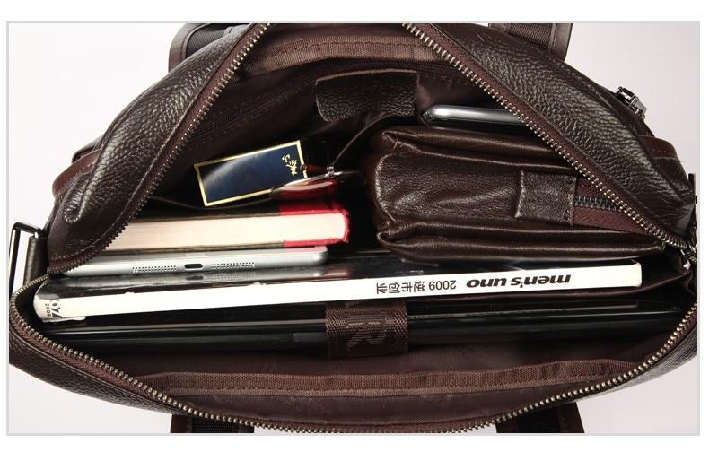 H3f06c0c968dc4ae1b745feb4f4a12cc8v 2019 New Fashion cowhide male commercial briefcase /Real Leather vintage men's messenger bag/casual Natural Cowskin Business bag