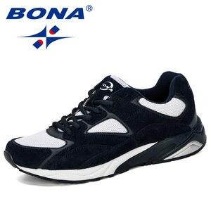 Image 3 - Bona 2019 novo designer dos homens tênis respirável krasovki sapatos homem super leve sapatos casuais masculino tenis masculino lazer calçado